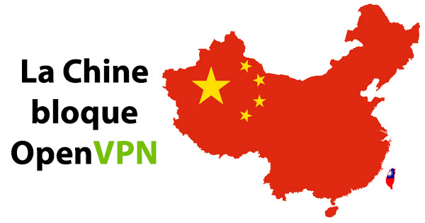 Chine bloque OpenVPN