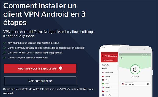 ExpressVPN Android VPN