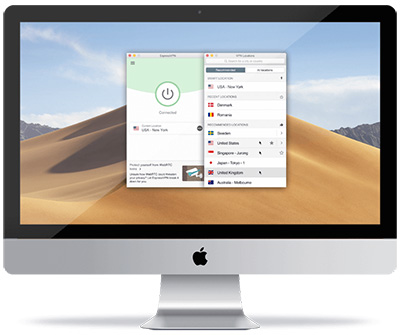 ExpressVPN application Mac