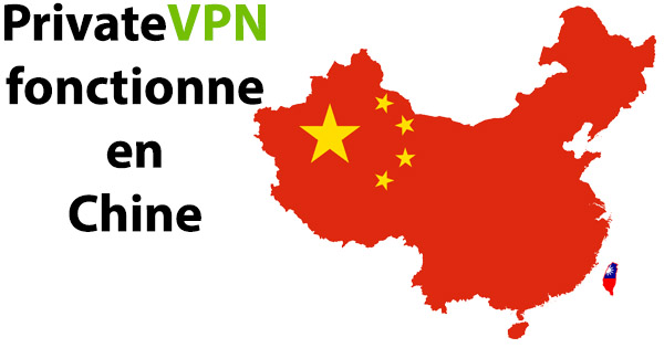 PrivateVPN Chine