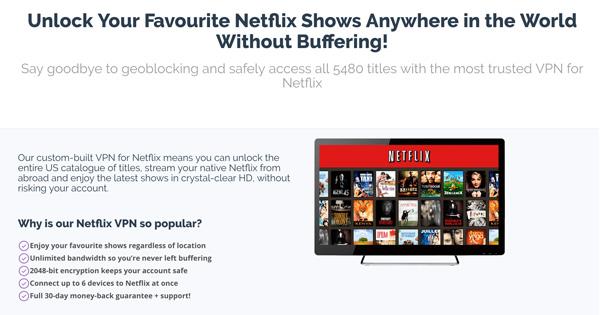 PrivateVPN-Netflix