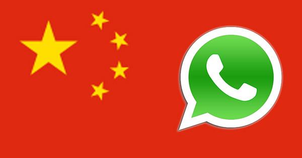 Whatsapp Chine