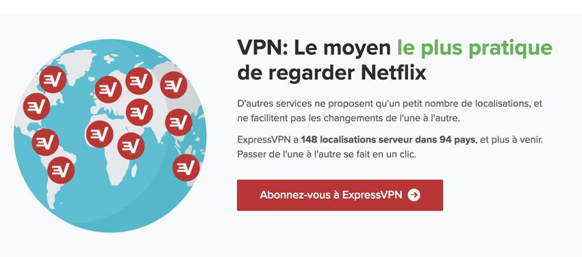VPN pour Netflix