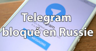 Blocage Telegram Russie