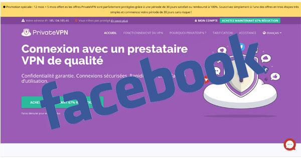 Facebook PrivateVPN