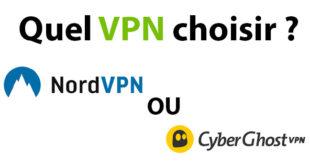NordVPN ou CyberGhost