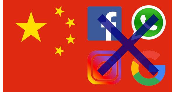 Sites bloqués chine