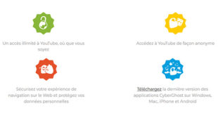 YouTube CyberGhost