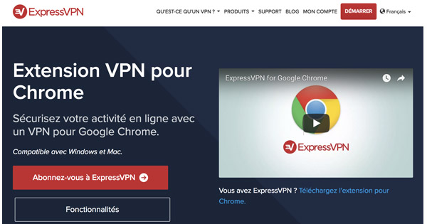 Extension VPN Chrome ExpressVPN