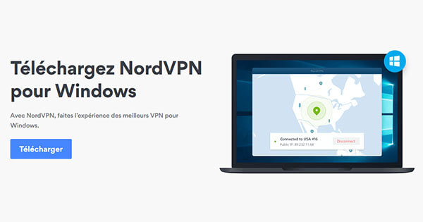 NordVPN sur Windows
