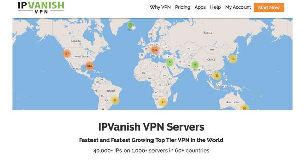 Pays IPVanish