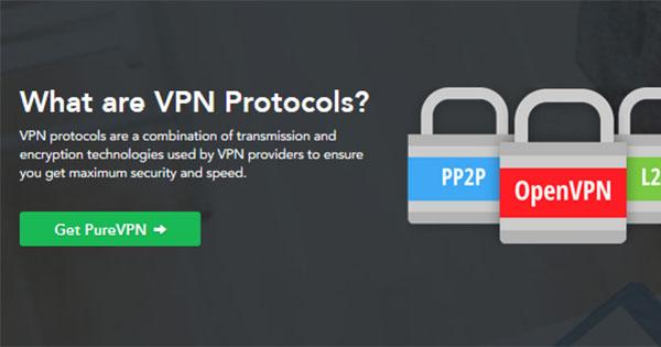 Protocoles PureVPN