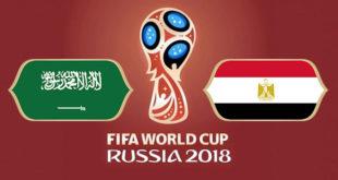 Arabie Saoudite Egypte Coupe du Monde