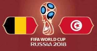 Belgique Tunisie Coupe du Monde