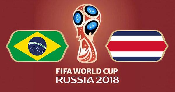 Brésil Costa Rica Coupe du Monde