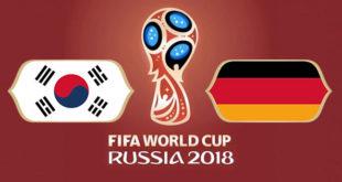 Corée du Sud Allemagne Coupe du Monde