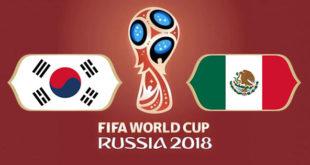 Corée du Sud Mexique Coupe du Monde
