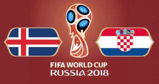 Islande Croatie Coupe du Monde