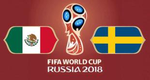 Mexique Suède Coupe du Monde