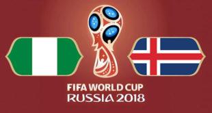 Nigeria Islande Coupe du Monde