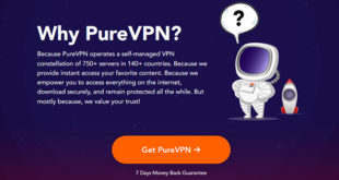 Pourquoi choisir PureVPN