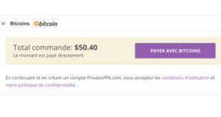 PrivateVPN Bitcoin
