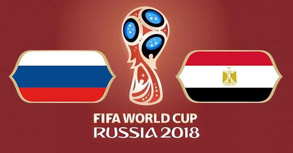 Russie Egypte Coupe du Monde