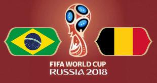 Brésil Belgique Coupe du Monde