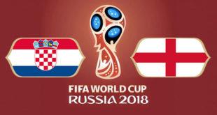 Croatie Angleterre Coupe du Monde