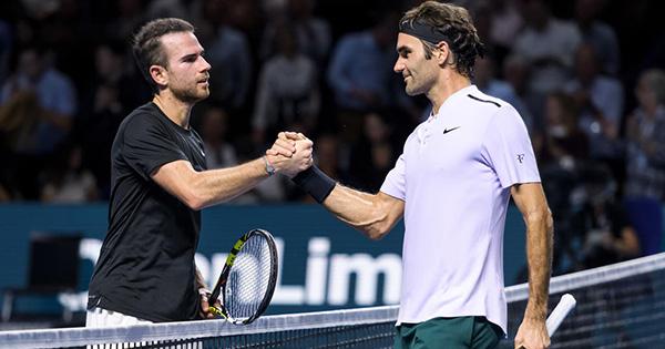 Federer Mannarino Wimbledon