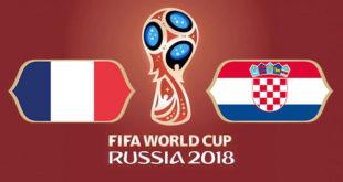 France Croatie Coupe du Monde