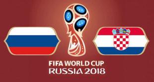 Russie Croatie Coupe du Monde