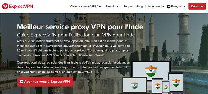 VPN Inde ExpressVPN