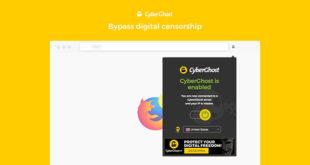 Extension VPN Firefox CyberGhost
