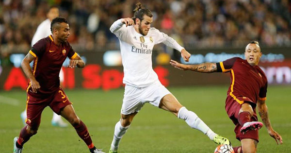 Real Madrid AS Rome streaming