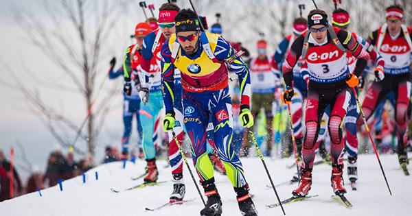 Biathlon streaming à l'étranger