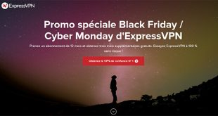 Promotion ExpressVPN Black Friday