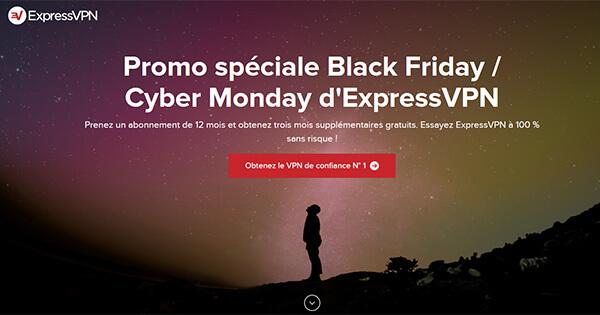 Promotion ExpressVPN Black Friday