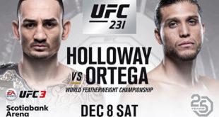 Holloway vs Ortega streaming
