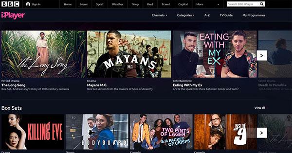 BBC iPlayer en France