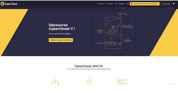 CyberGhost 7 avis