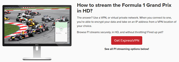 F1 en streaming