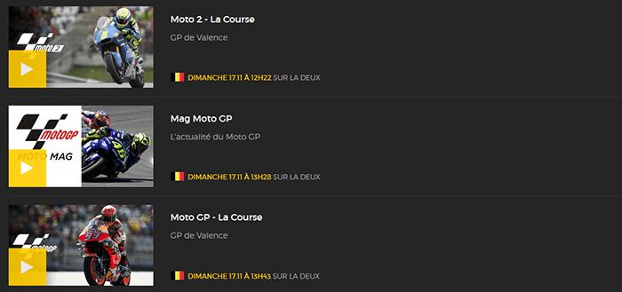 MotoGP Valence RTBF