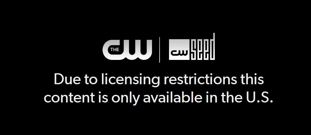 Message d'erreur The CW