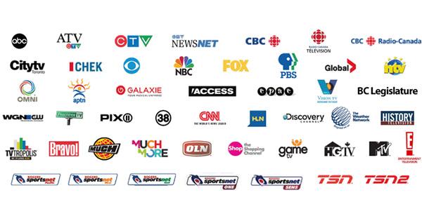 Télévision canadienne en France