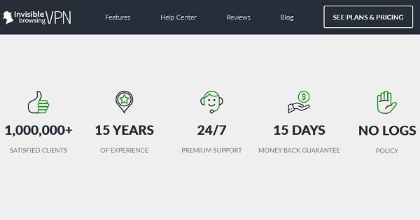Avis ibVPN support client