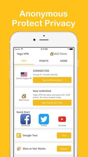 Application Yoga VPN