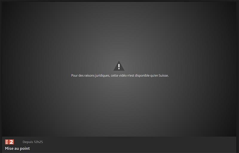 RTS sans VPN