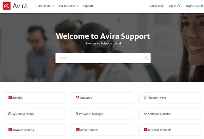 Support Avira Phantom VPN