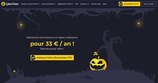 Promo Halloween CyberGhost